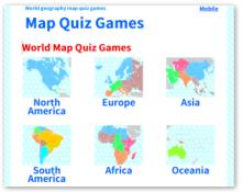 Map Quiz Games - MapQuiz